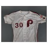 Phila Phillies SIGNED Joe Boever Game Used Jersey