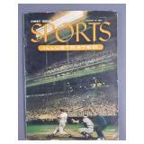 August 1954 Sports Illustrated #1 Magazine