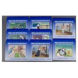 8pc Vtg Beethoven & Bedtime Stories Animation Cels