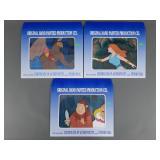 3pc Vtg Filmation He-Man MOTU Animation Cels
