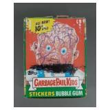 Vtg Garbage Pail Kids Series 10 Full Box