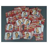 86pc Vtg Dick Clark Iron On Picture Patches NOS