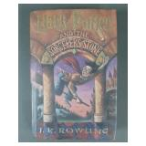 1998 Harry Potter Sorcerers Stone US 1st Ed Book