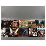10pc Rock LPs w/ Beatles, Jimi, Janis Joplin ++