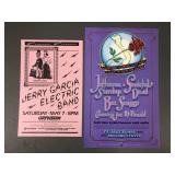 1980s Jerry Garcia Grateful Dead Concert Posters
