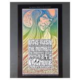 1st Print 1967 Fillmore Shoiw Poster w/ Zappa