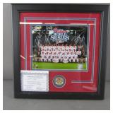Signed 2008 WS Phillies Team Photo