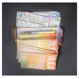 48pc 1975-2016 Concert Tickets Lot