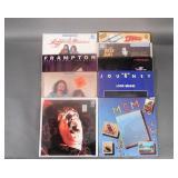 9pc 1976-1983 LP Records Lot