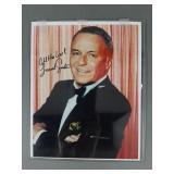 """8""""x10"""" Frank Sinatra SIGNED Photo w/ COA"""