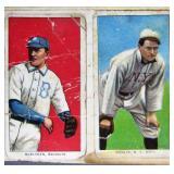T206 Baseball Cards: McElveen, Donlin, Dygert