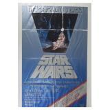 Vtg 1982 Star Wars Movie Poster w/ Revenge Teaser