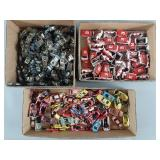 Lrg Lot Vtg Tyco Command Control Bodies & Chassis