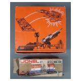 Vtg Lionel Missile Launching Platform + Mail Car
