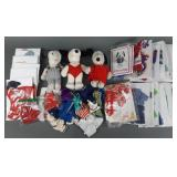 Lrg Snoopy & Belle Plush & Clothing Collection