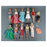 10pc Vintage Barbie Doll Lot