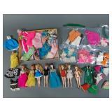 Vtg Topper Dawn Doll, Clothes & Acc Lot