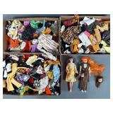 Vtg Mego Maddie Mod Doll & Clothing Lot