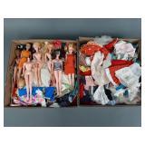 Vtg Barbie KO Clone Doll & Clothing Lot