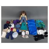 American Girl Doll w/ Clothes & Acc