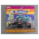 1990 Micro Machines Tuff Trax Monster Trucks NIP