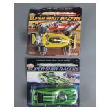 2pc Vtg Marx Super Shot Racers NIP