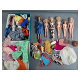 Vtg Barbie & Friends Doll & Clothing Lot