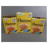 3pc Vtg 1980 Lone Ranger Cheerios Cereal Boxes