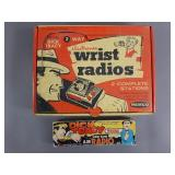 Vtg Dick Tracy Wrist Radios in Box