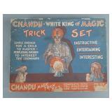 Vtg Chandu White King of Magic Set Premium Set