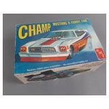 Vtg AMT Champ Mustang II Funny Car Model
