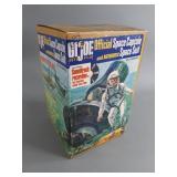 Vtg GI Joe Space Capsule in Box w/ Record