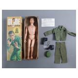 "Vtg 12"" GI Joe Man of Action Soldier in Box"