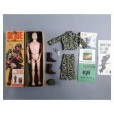 "Vtg 12"" GI Joe Action Marine Figure in Box"