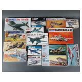 15pc Airfix & Monogram Aircraft Models