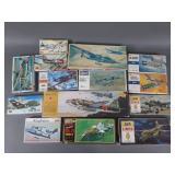 11pc Mixed Military Aircraft Model Kits