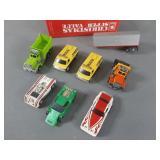 Vtg Tyco & AFX Slot Car & Parts Lot