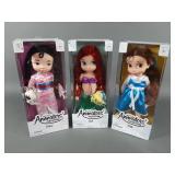 3pc Disney Animators Coll Dolls NIB w/ Ariel