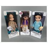 3pc Disney Animators Coll Dolls w/ Aladdin