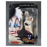 Disney Villians Cruella De Vil Doll NIB