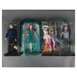 4pc Barbie Pink Label Dolls NIP w/ Mary Poppins