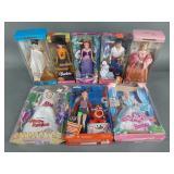8pc Barbie Dolls NIP w/ Disney, Dolls of the World