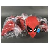 12pc Vtg 1986 Spiderman Rubber Masks NWT