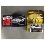 2pc James Bond Diecast Cars NIP w/ Corgi