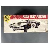 Taiyo Highway Patrol B/O Bump N Go Car in Box