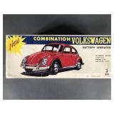 Taiyo VW Bug B/O Bump N Go Car in Box