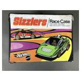 HW Sizzlers Race Case w/ Juice Machine & 2 Redline