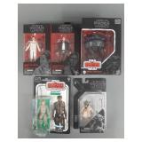 5pc Star Wars Black Series Original Trilogy Figs