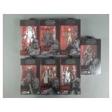 7pc Star Wars Black Series Figures NIP