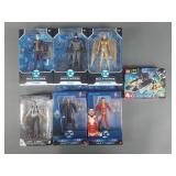 7pc DC Comics Multiverse Figures & Lego Set NIP